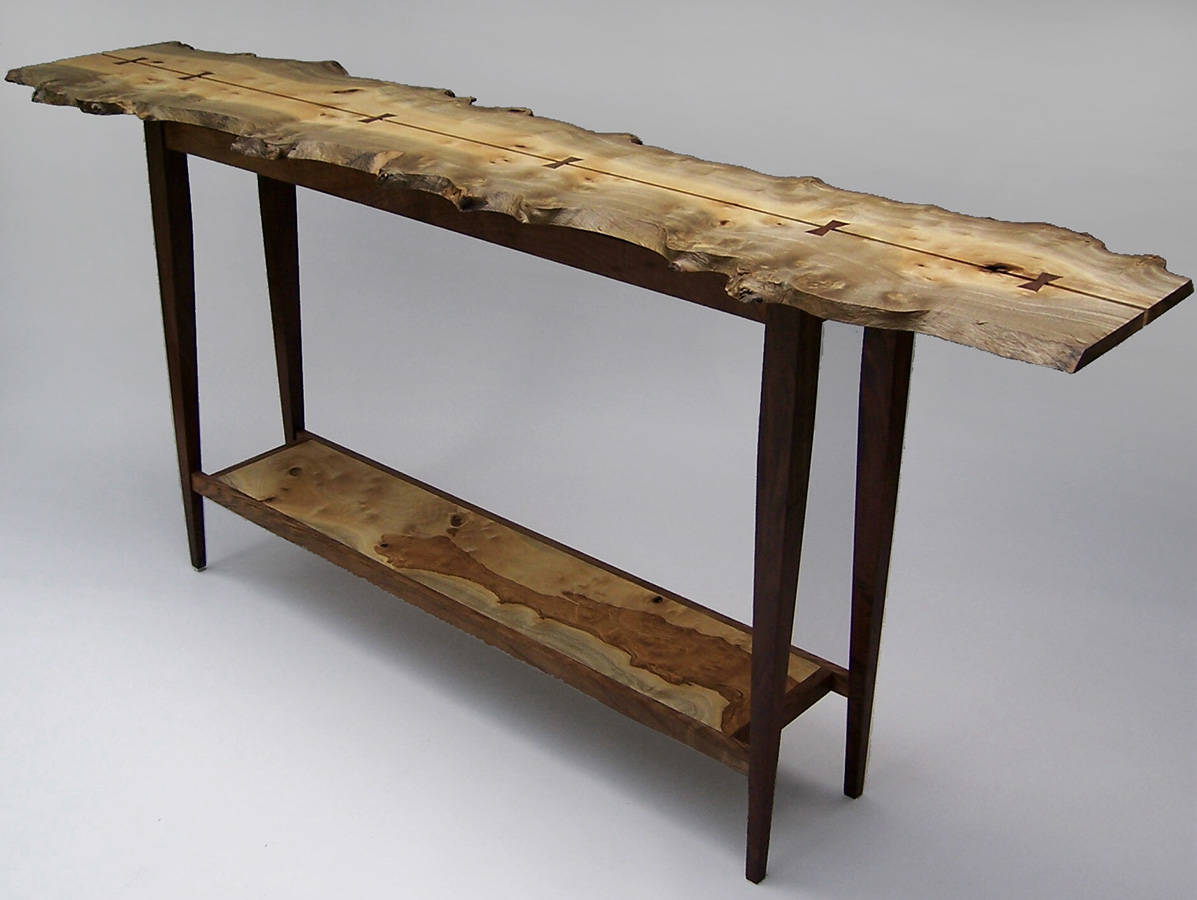 Hall Table crafted by Syd Dunton